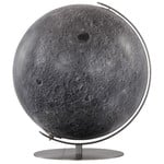 Columbus Moon globe, 51cm, hand-finished