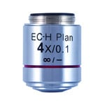 Motic CCIS EC-H PL 4x / 0.1 (WD = 15.9mm) plan-achromatic objective