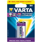 Varta 9 volt 'Professional' lithium block battery