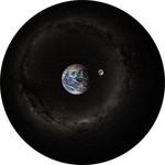 Sega Toys Planetarium Dia-Set Erde und Mond bei Tag und Nacht