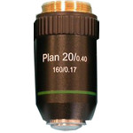 Hund Planachromic 20X/0.40 objective for upright microscopes