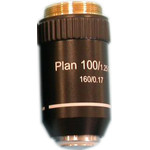 Hund 100X / 1.25 planachromatic objective for upright microscopes