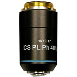 Hund ICS PL 40 / 0.65 objective for upright microscopes