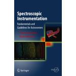 """Springer Instrumentos espectroscópicos (libro """"Spectroscopic Instrumentation"""" en inglés)"""
