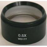 Optika obiectiv Objektiv Zusatzlinse ST-103, 0,5x 8 (w.d.177mm) für SZN-Köpfe