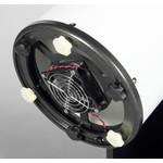 Grâce au ventilateur, le miroir refroidit plus rapidement.