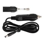Omegon 12V 3A car battery cable (3m) for car cigarette lighter socket