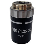 Optika objetivo El objectivo M-148, 100x, E-Plan, IOS