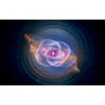 Palazzi Verlag Póster Cat's Eye Nebula - Hubble Space Telescope 75x50