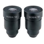 Eschenbach WF20X/10mm Stereo series eyepieces (pair)