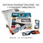 Baader AstroSolar Sonnenbeobachtung-Set: Brillen und Folie