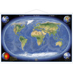 Stiefel Panorama map of the Earth