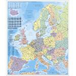 Stiefel Kontinent-Karte Europa Organisationskarte
