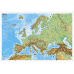 Stiefel Continent map Europe physically