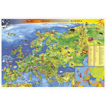 Stiefel Children's map of Europe (in German)