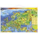 Stiefel Mapa Europy dla dzieci (z metalowymi listwami)