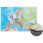 Stiefel Harta cu statele europene (in germana) tip fagure