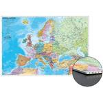 Stiefel Mapa kontynentów Kraje Europy, do wpinania, na płycie w formie plastra miodu