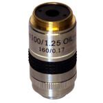 Optika Obiettivo M-059, 100x/1,25 (Oil) PLAN Achromatico con diaframma ad iride per campo scuro per B-863, B-500