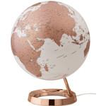 Räthgloben 1917 Globe éclairé couleur cuivrée