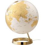 Räthgloben 1917 Globe Light&Colour, goud (Engels) 30cm