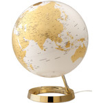 Räthgloben 1917 Globo Mappamondo Light & Colour Oro 30cm