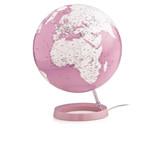 Räthgloben 1917 Globo Globe, light & colour, coral