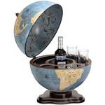 Globe de bar Zoffoli Galileo Blu Dust 40cm