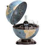 Zoffoli Globusbar Galileo Blue Dust 40cm