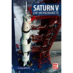 Motorbuch-Verlag Książka Saturn V - Die Mondrakete (Saturn V - rakieta księżycowa)