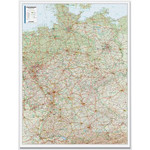 Bacher Verlag road map Germany 1:500.000 laminated