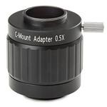 """Adaptateur appareil-photo Euromex adapateur caméra NZ.9850, C-Mount, 0,5 x lentille, 1/2"""""""