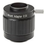 "Euromex Camera-adapter NZ.9850, C-Mount, 0,5x lens voor 1/2"" camera"