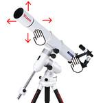 La résistance de l'embrayage à friction est réglable et peut donc être adaptée à différentes optiques.