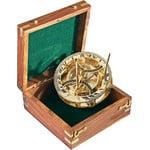 K+R PANAMA 'nostalgia' compass with sundial