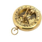 K+R TOBAGO 'nostalgia' compass with sundial