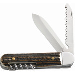 Herbertz Couteau de poche, manche en corne, N° 298610