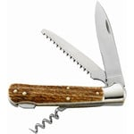 Herbertz Pocket knife, horn grip, 258111