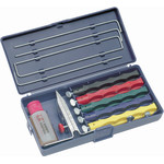 Lansky Sharpeners Lansky deluxe sharpening set with 5 sharpening stones