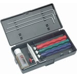 Lansky Sharpeners Lansky diamond sharpening set with 3 sharpening stones