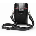 Leica Leather case for 10x25 binoculars, black