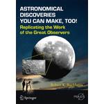 Livre Springer Astronomical Discoveries You Can Make, Too!