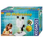 Kosmos Verlag Lupa estereo 3-D Makroskop Forschungspaket, 20x, LED