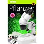 Omegon Stereomikroskop StereoView, Auflicht u. Durchlicht, 80x, Pflanzen-Set