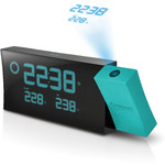 Oregon Scientific Despertador proyector PRYSMA con predicción meteorológica BAR 223P BLUE