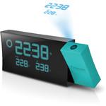 Oregon Scientific Estación meteorológica inalámbrica PRYSMA BAR 223P BLUE projector alarm clock with weather forecasting