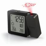 Oregon Scientific Réveil projecteur radio piloté + météo PROJI-BAR 368P Noir