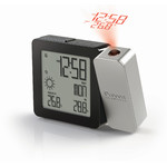 Oregon Scientific Statie meteo wirelles PROJI radio-controlled clock and weather station, silver