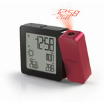 Oregon Scientific PROJI BAR 368P radio-controlled clock and weather station, burgundy