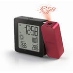 Oregon Scientific Statie meteo wirelles PROJI BAR 368P radio-controlled clock and weather station, burgundy